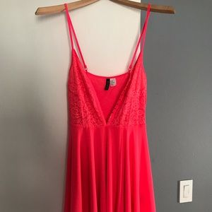 Hot Pink H&M Dress (10)